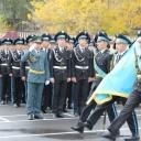 Принятие Торжественной Клятвы воспитанника КРВШИ в-ми 2-ой и 4-ой роты.  3.10.2014 года.